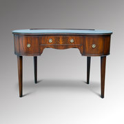Mahogany Kidney Dressing Table