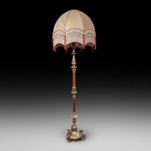 1960's Giltwood Standard Lamp