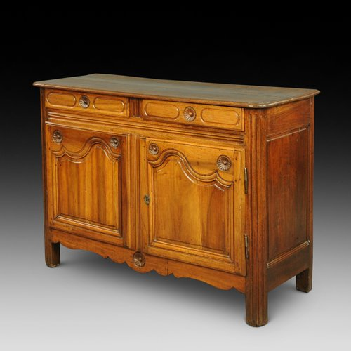 19th century French chestnut side cabinet