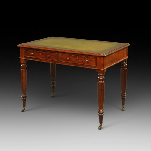 Ealy Victorian mahogany writing table