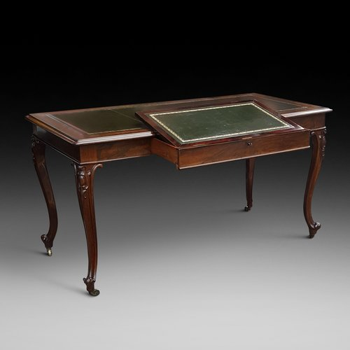 Early Victorian Rosewood Writing Table