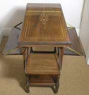 Edwardian Mahogany Card Table