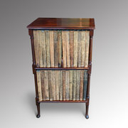 Edwardian Rosewood Bookshelves