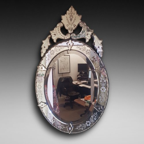Late 19thC Venetian Mirror