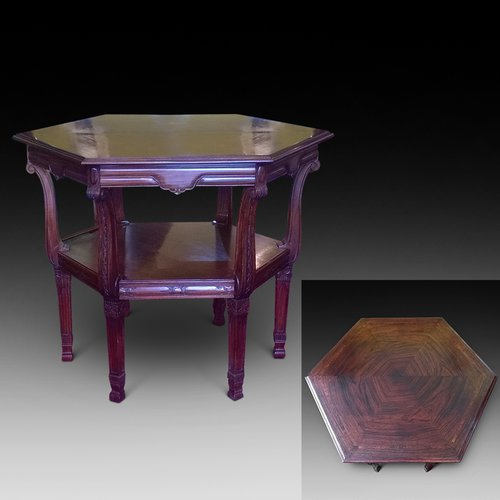 Late 19th Century Rosewood Center Table