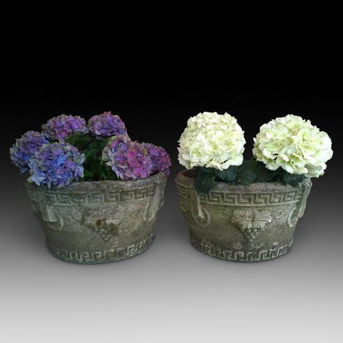 Pair of Stone Planters