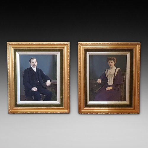 Pair of Victorian Portraits