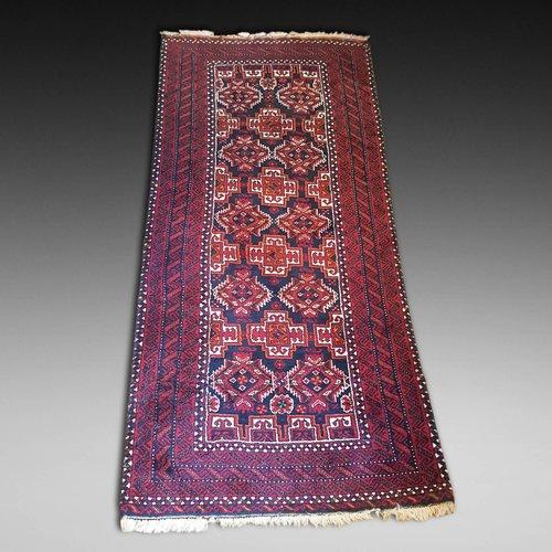 Persian Baluch Hand Woven Woollen Runner