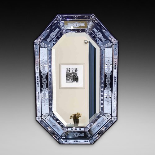 Venetian Cushion Framed Wall Mirror