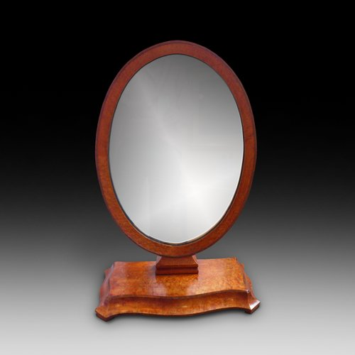 Victorian Amboyna Dressing Table Mirror