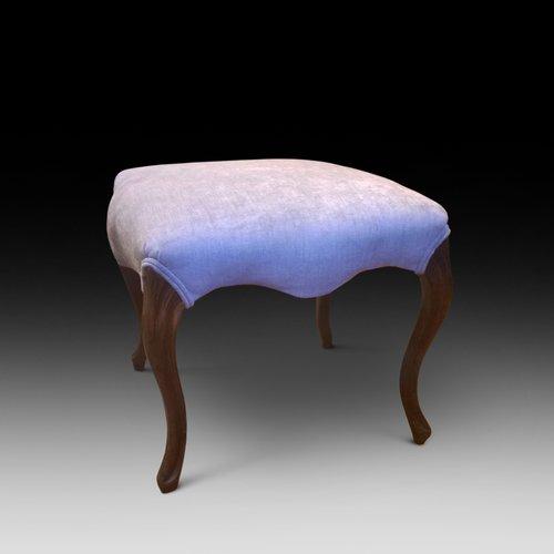 Victorian walnut stool