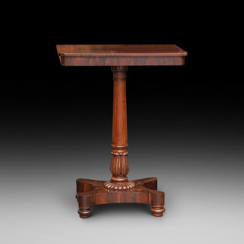 William IV Rosewood Occaisional Lamp Table