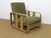 Heals Limed Oak Recliner Easy