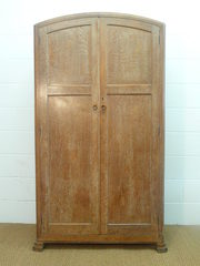 Heals Limed Oak Wardrobe