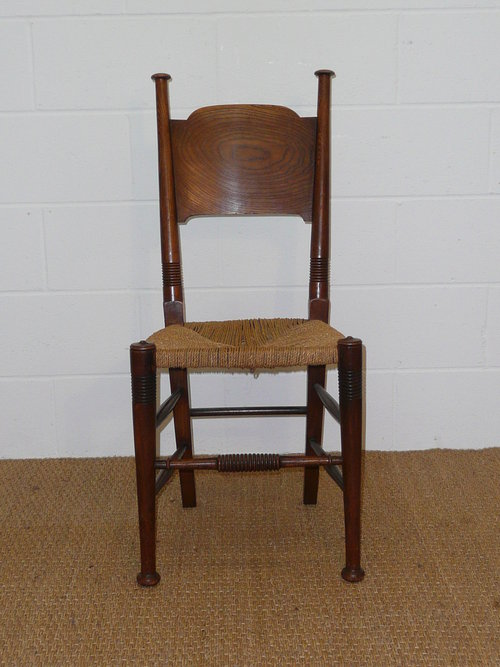 Set Of 8 William Birch Dining Chairs - Antiques Atlas