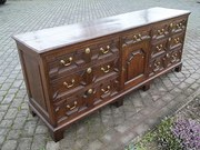 antique oak dresser base