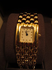 Chaumet Ladies solid gold wris