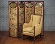 Art Nouveau Screen c1900