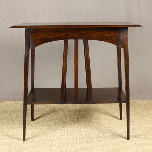 Arts crafts side table antiques atlas for Arts and crafts side table