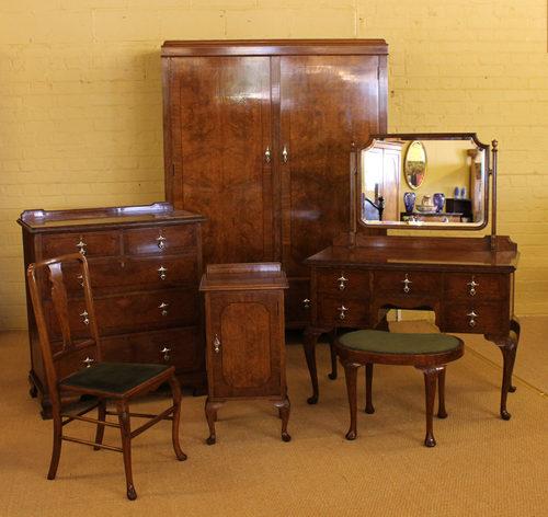 Edwardian Oak Bedroom Suite Antiques Atlas