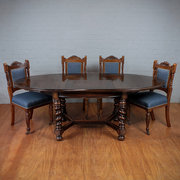 Extending Oak Dining Table c19