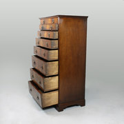 Narrow Mahogany Chest of Drawe