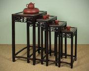 Oriental Nest of Four Tables c