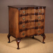 Queen Anne Style Chest of Draw