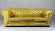 Vintage Leather Chesterfield S