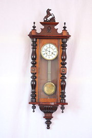spring driven regulator wall clock