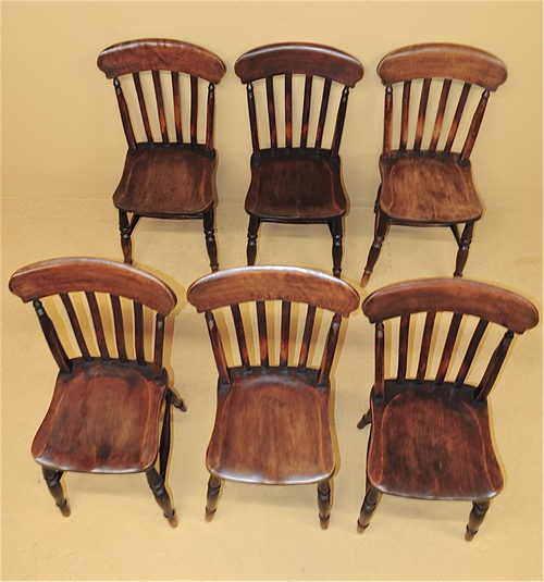 6 farmhouse kitchen chairs r3539 antiques atlas