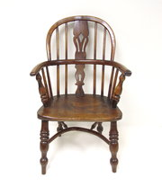 Childs Yew Wood Armchair