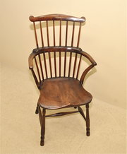 Comb Back Windsor Armchair
