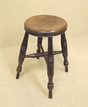 Elm Lace Makers Stool