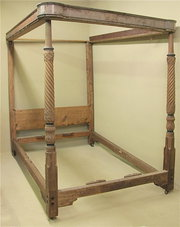 Mahogany FourPoster Bed