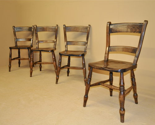 set of 4 barback kitchen chairs r3470 antiques atlas. Black Bedroom Furniture Sets. Home Design Ideas