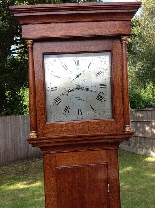 Longcase clock by James Gregory from Basingstoke