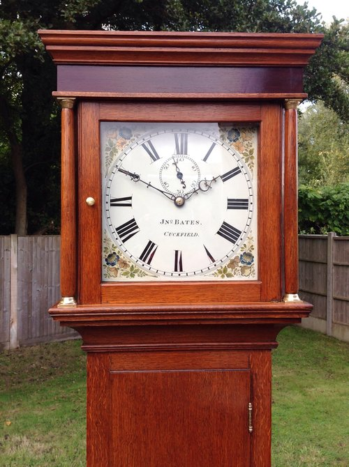 Antque Longcase clock by John Bates