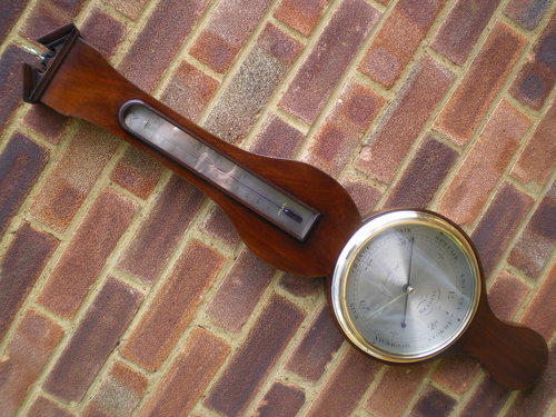 Mercury Wheel Barometer