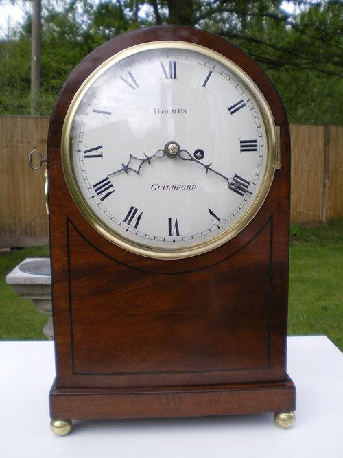 Antique Early 19th Century Bracket Clock