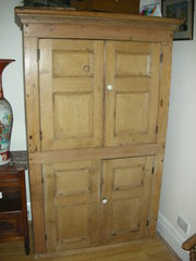 Antique Victorian 4 Door Pine