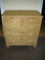 Victorian Pine Chest of Drawer