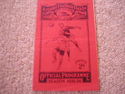 1935 ARSENAL v MANCHESTER CITY