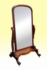 Victorian Mahogany Antique Che