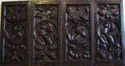 16th Century Oak Romayne Panel