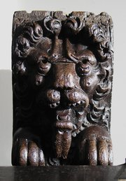 17th Century English Oak Lion