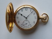 18CT Gold Hunter POcket Watch