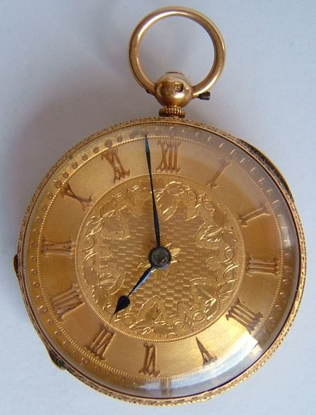 antiques atlas antique 18ct gold fusee pocket