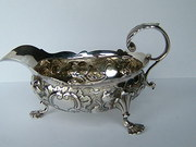 George II English Silver Sauce