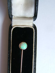 Opal Stick Stock or Tie Pin